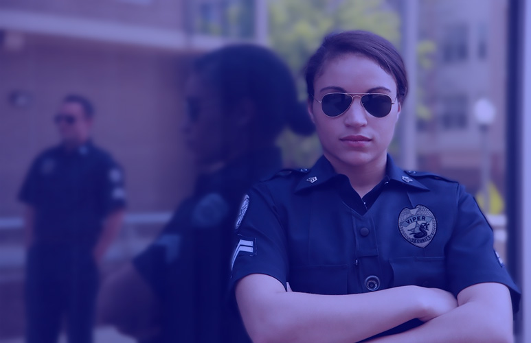 female security after