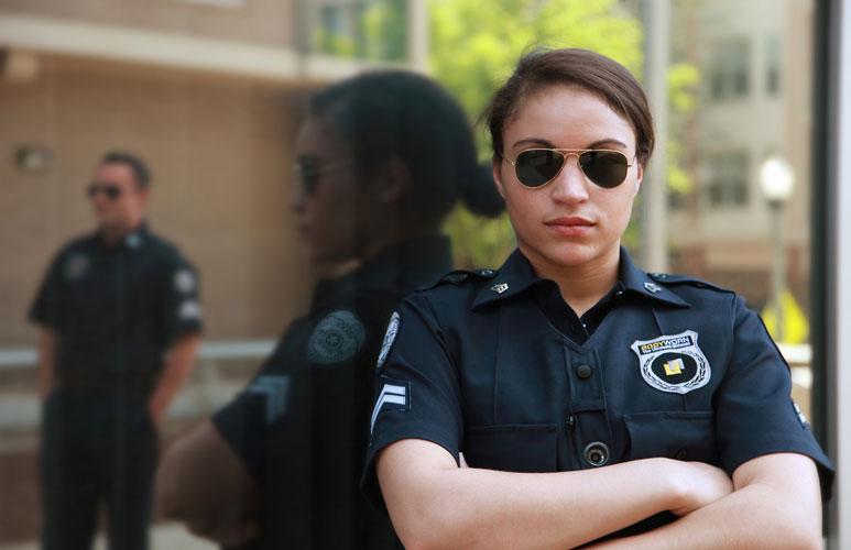 female security before